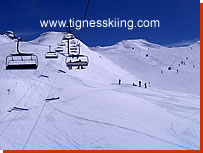 Fresse chairlift, Tignes Val Claret